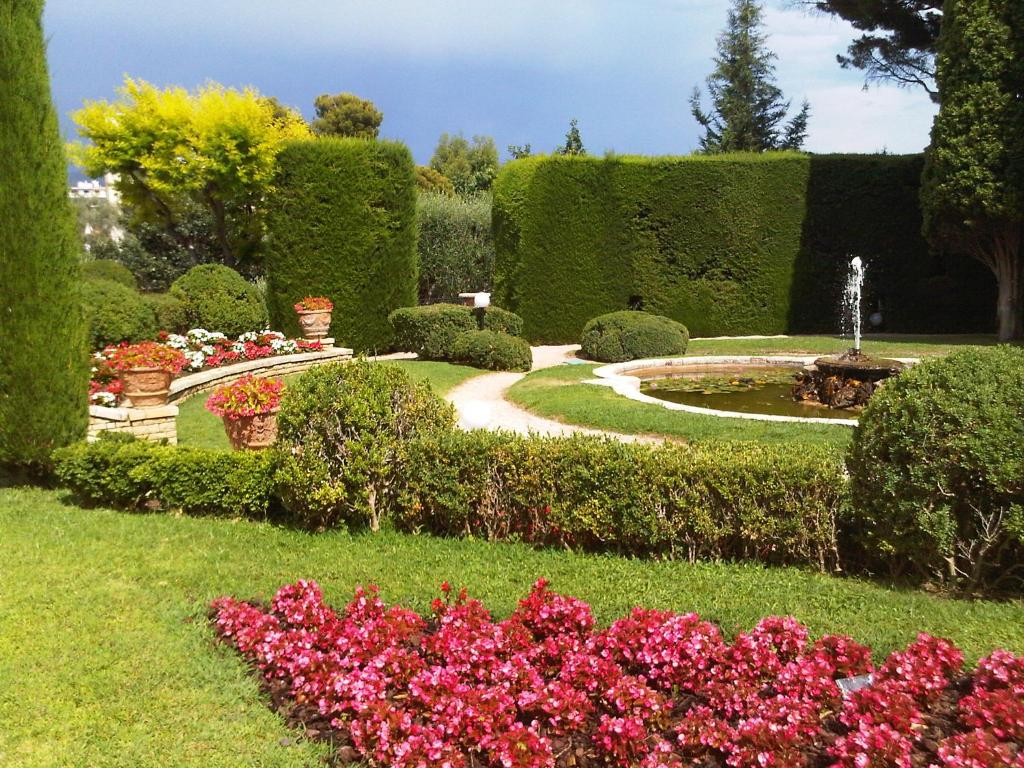 Jardin de l'établissement Residence Fabron Proche Mer
