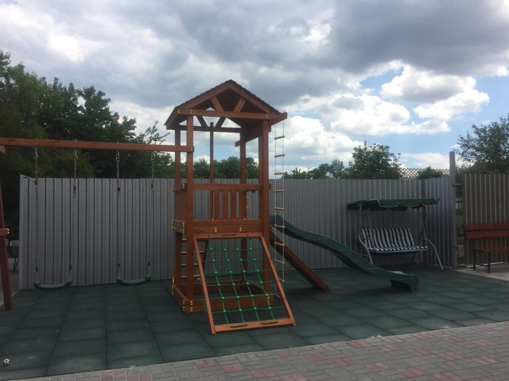 Children's play area at Guest House Ayuta