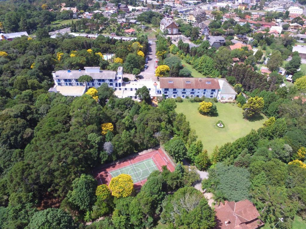 A bird's-eye view of Hotel Gramado Palace
