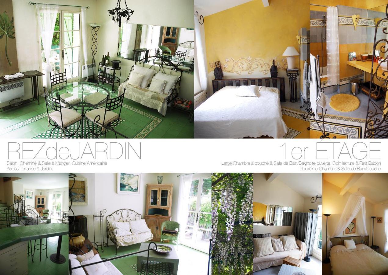 Coin Chambre Dans Petit Salon maison meublée à gassin village, france - booking