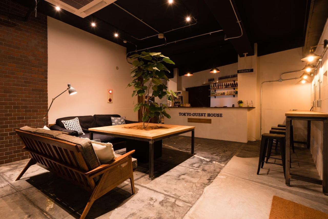 Хостел  Tokyo Guest House Ouji Music Lounge