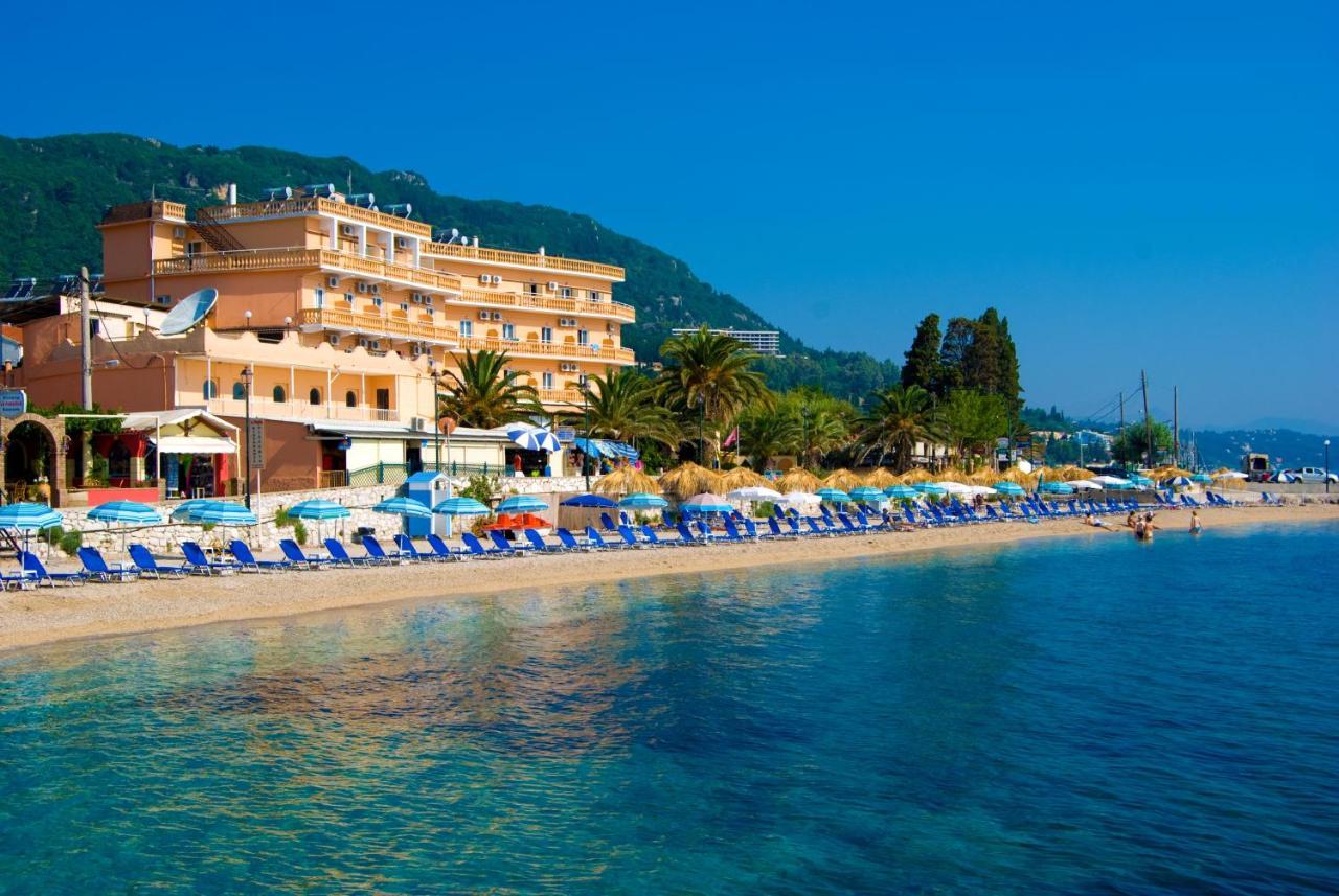 Potamaki Beach Hotel Benitses Greece