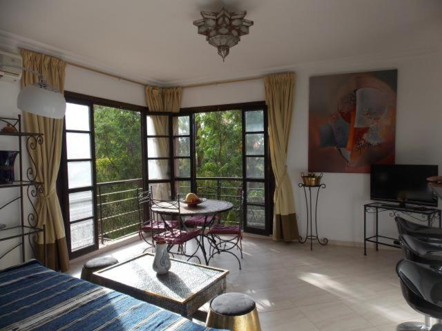 Апартаменты/квартира  Appart Avec Vue Jardin/Majorelle