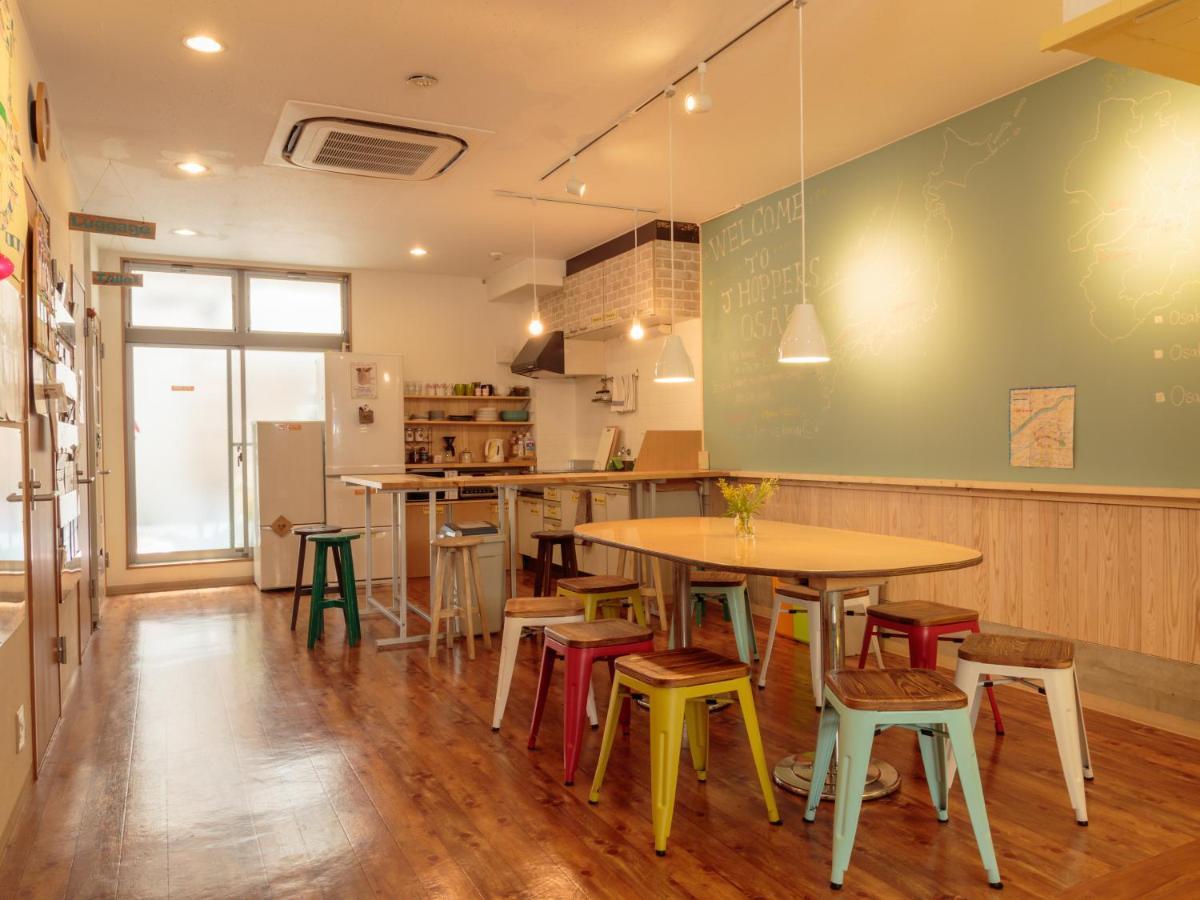 Хостел  J-Hoppers Osaka Guesthouse