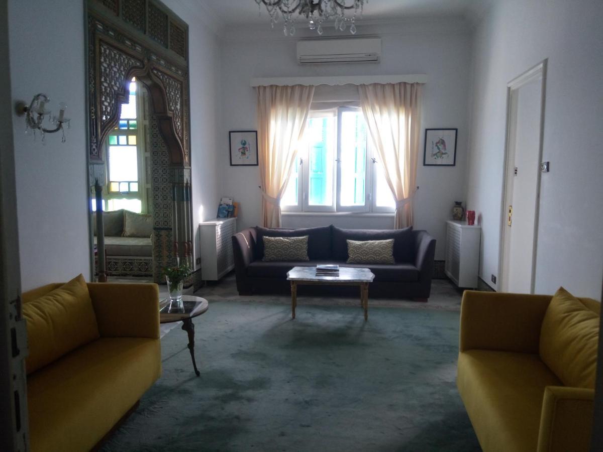 Separation Salon Chambre Studio guesthouse dar marsa cubes, la marsa, tunisia - booking