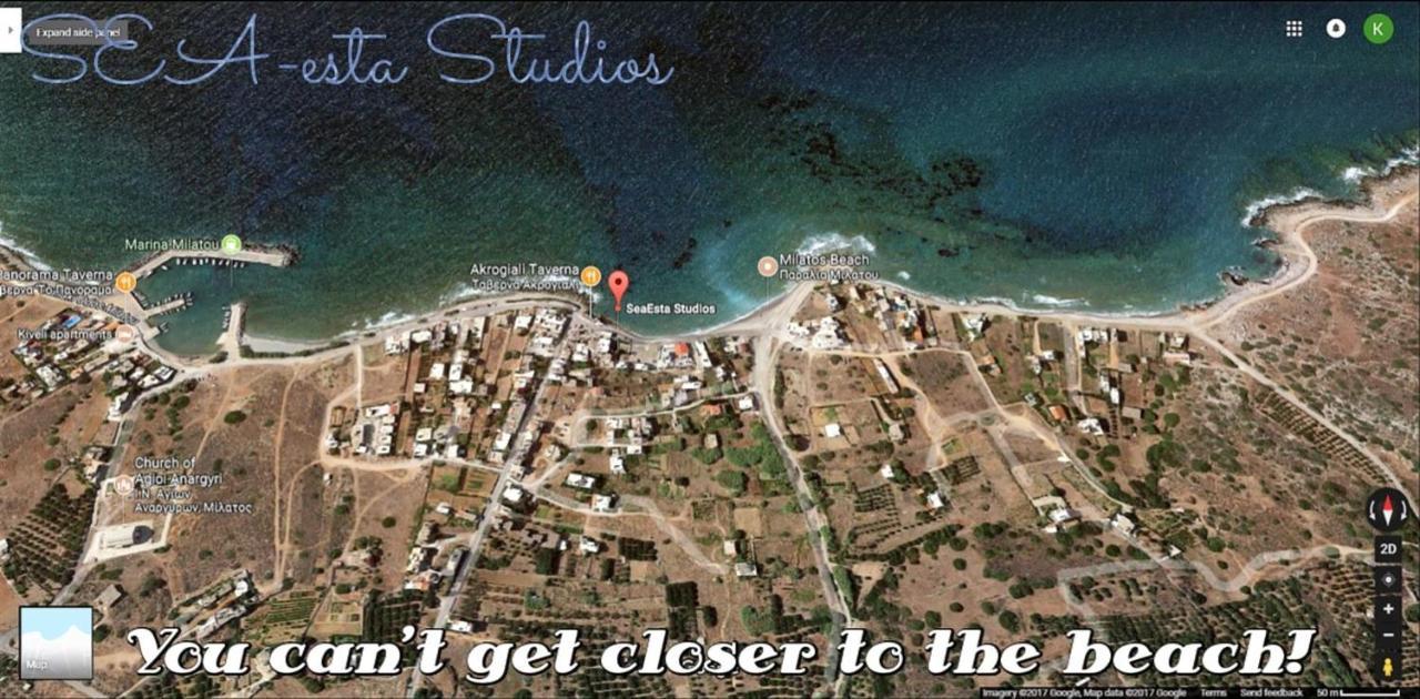 Vacation Home SEA-esta Beach Studios, Milatos, Greece
