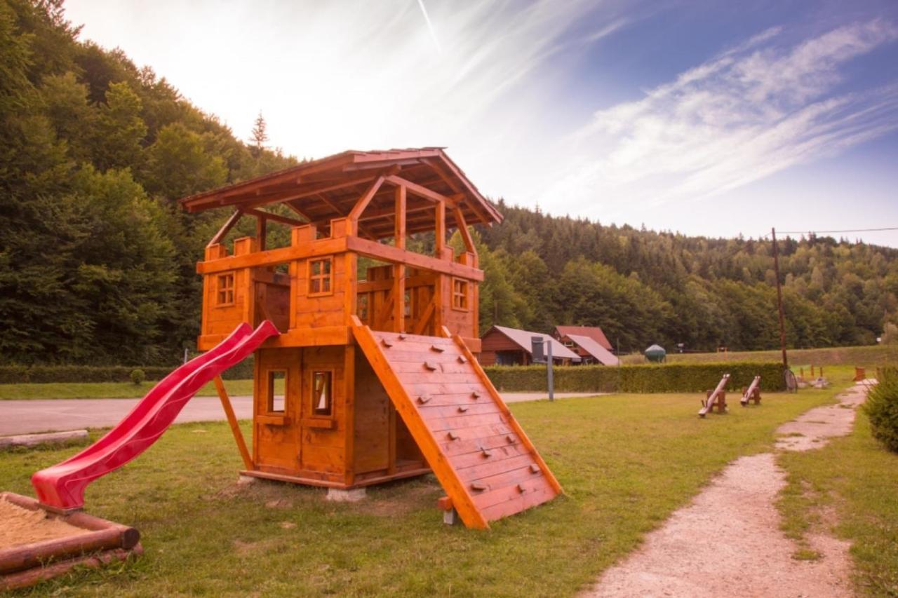 Detský kútik v ubytovaní Rybnik Horna Marikova