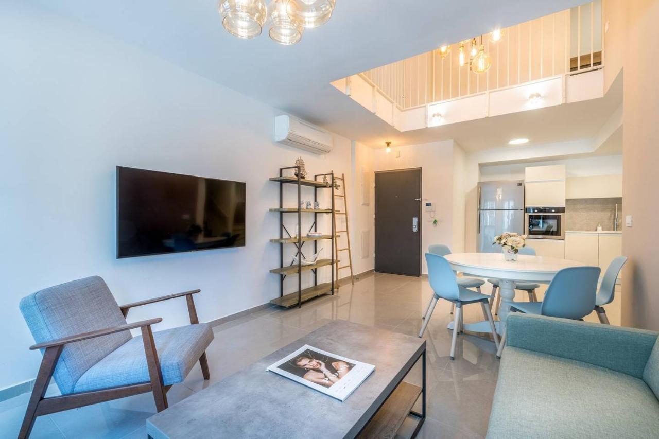 Апартаменты  Trust Inn - Jaffa Brand New Duplex Balcony&Parking