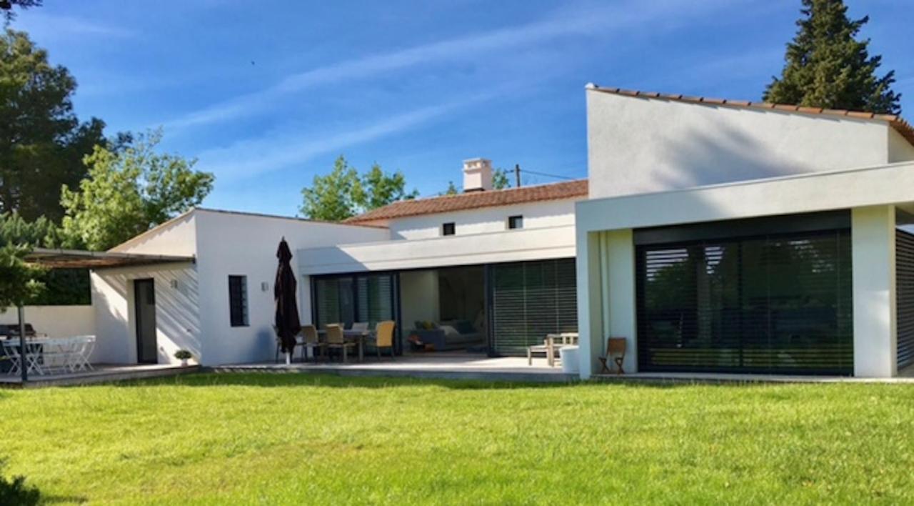 Image De Maison Moderne villa maison moderne avec piscine (la buissonne), puyricard