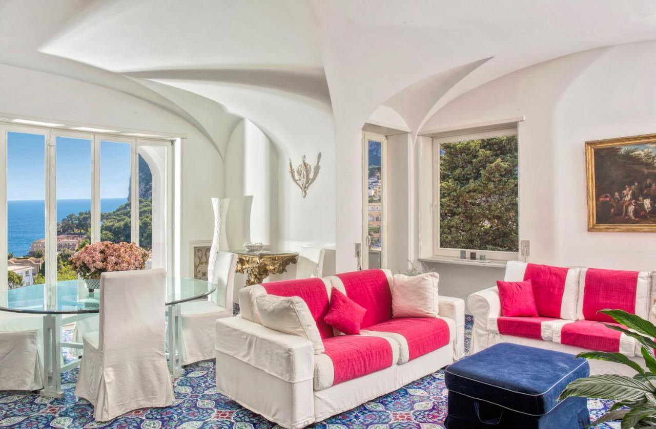 Villa A Tre Piani villa silia, capri, italy - booking