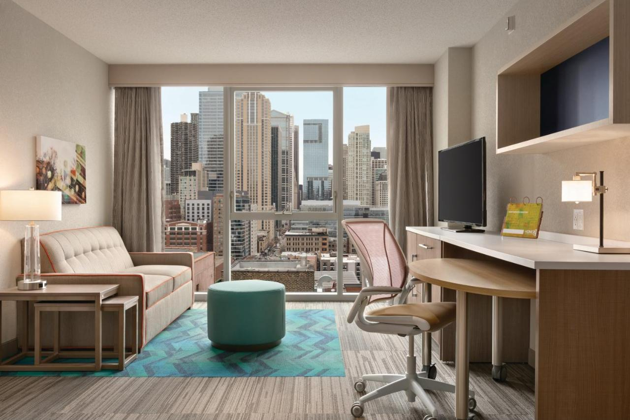 Отель  Отель  Home2 Suites By Hilton Chicago River North