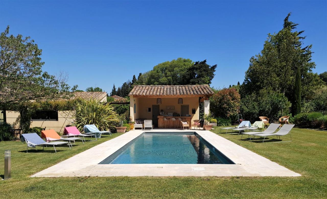 Plan De Maison Mas De Provence guesthouse le mas des muses, saint-rémy-de-provence, france