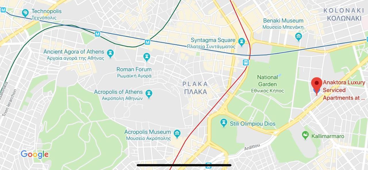 Anaktora Luxury Serviced Apartments At Kolonaki Athens Updated
