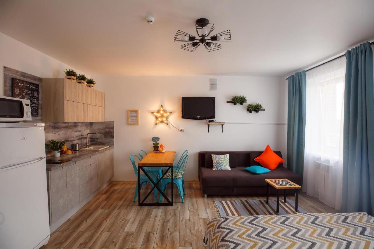 Апартаменты/квартиры  Квартира-студия ЛОФТ РЫБЫ  - отзывы Booking