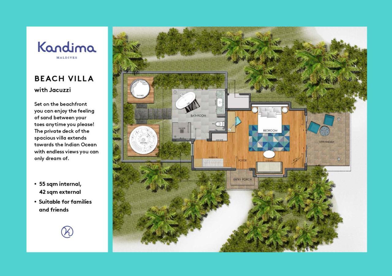 Resort Kandima Maldives Kudahuvadhoo Maldives Booking Com
