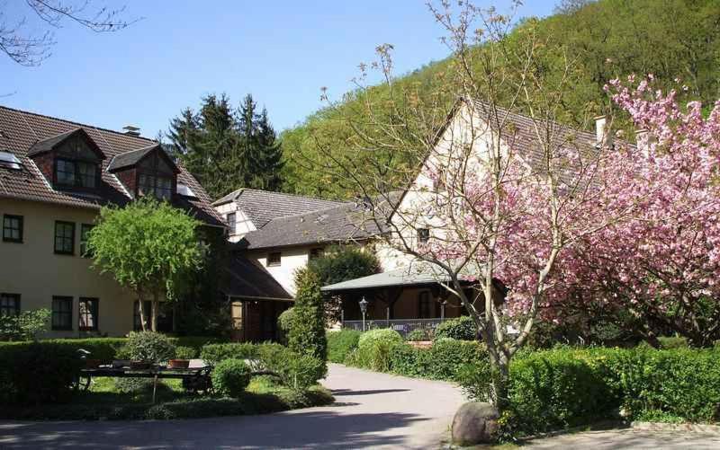 Отель  Landhotel Burkartsmühle