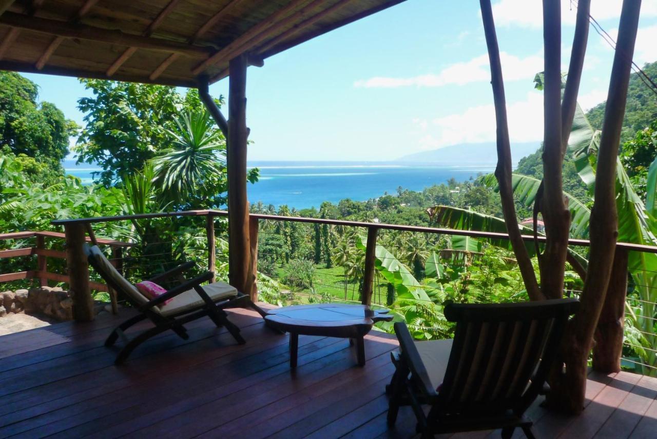 Balcon ou terrasse dans l'établissement Vanira Lodge