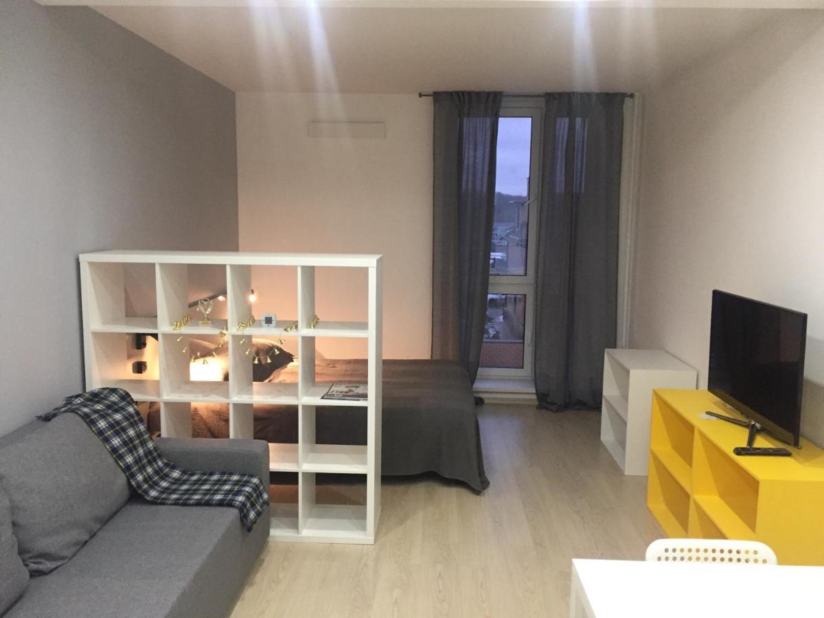 Апартаменты/квартира  Студия в современном апарт-отеле