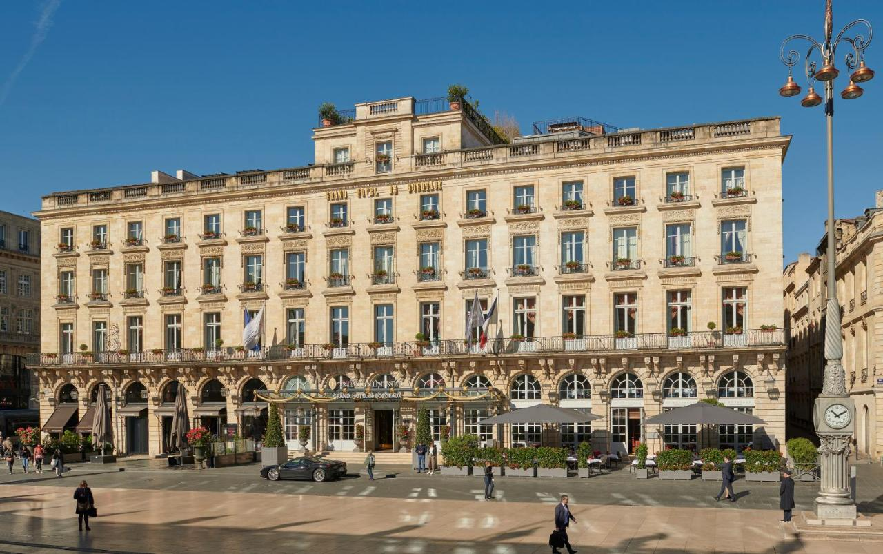 Отель  InterContinental Bordeaux Le Grand Hotel