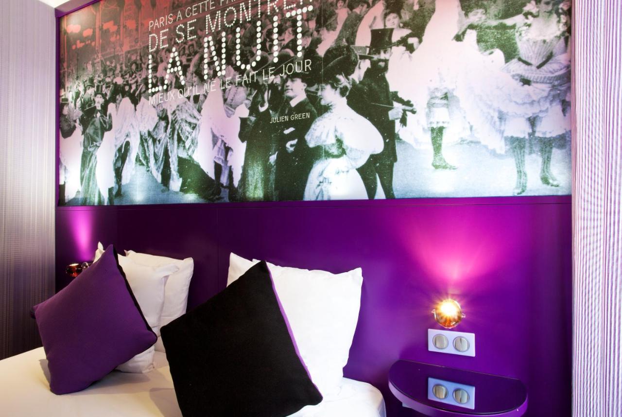 Decoration De Chambre Theme Paris hôtel montmartre mon amour, paris, france - booking