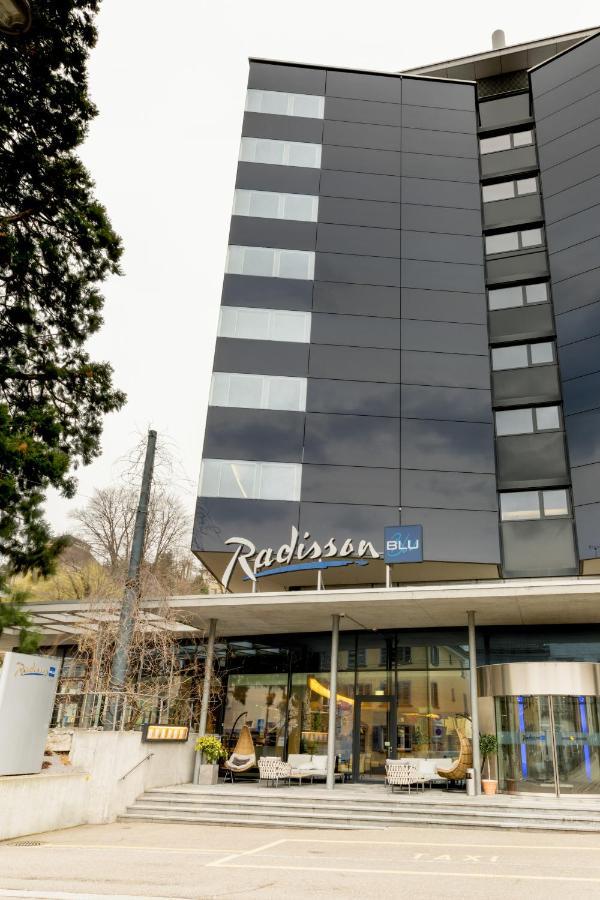 Отель  Отель  Radisson Blu Hotel, St. Gallen