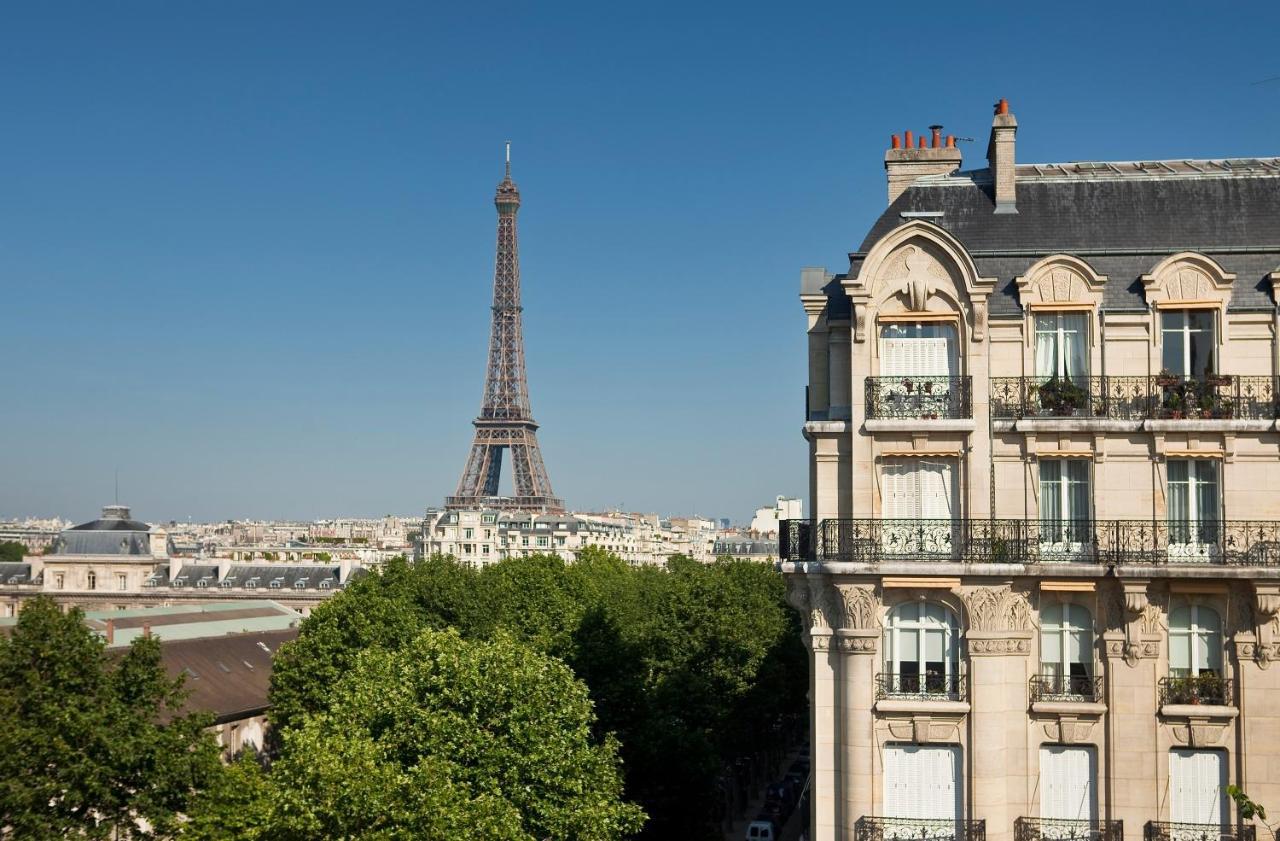 巴黎鐵塔旁邊住宿推薦,可以看見巴黎鐵塔的房間,Hotel Duquesne Eiffel(迪尤肯埃菲爾酒店)