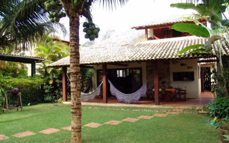 Дом для отпуска  Casa Condomínio Praia Particular