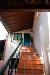 A balcony or terrace at Casa do Luso