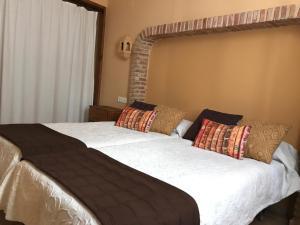 Cama o camas de una habitación en Casa El Rincón
