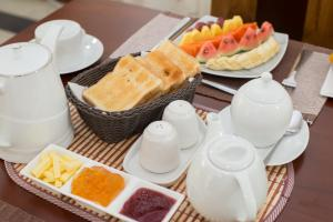 Breakfast options available to guests at Villa Cassandra