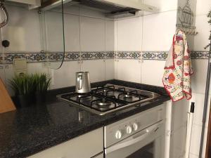 A kitchen or kitchenette at Casa Lima