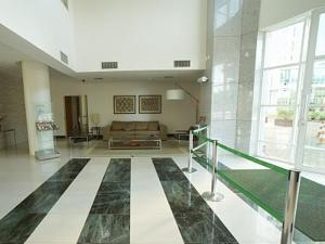 The lobby or reception area at Flat Setor Hoteleiro Norte