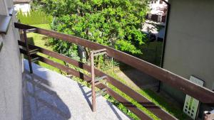 A balcony or terrace at Vilnius Luxury Apartment 1