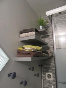 Un ou plusieurs lits superposés dans un hébergement de l'établissement Chez Odile