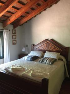Krevet ili kreveti u jedinici u okviru objekta Casa Rural Aldea Chica