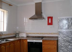 Dapur atau dapur kecil di Villas Monte Jávea - BTB