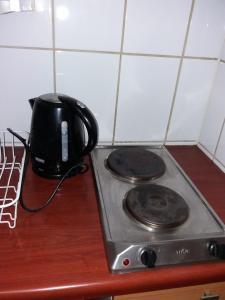 Una cocina o zona de cocina en Santiago Downtown Apartments Moneda II