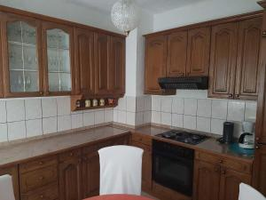 A kitchen or kitchenette at Apartment Ampulica 1