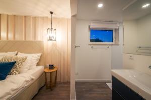 TV/Unterhaltungsangebot in der Unterkunft Schwimmende Suiten Usedom