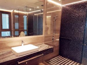 A bathroom at HAUS The Sentral Residences @ KL Sentral