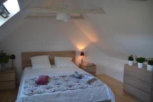 Un ou plusieurs lits dans un hébergement de l'établissement Maison Del Traouc