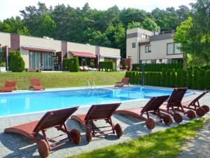 The swimming pool at or near Apartamenty Starowka - Seaside