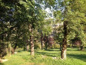 Jardin de l'établissement Maison Del Traouc