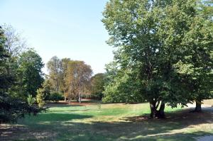 Jardin de l'établissement Domaine de Toureille