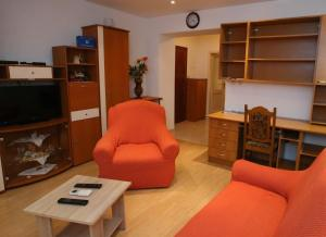 A television and/or entertainment center at Apartment Tomislav
