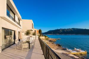 A balcony or terrace at Villa Krasici