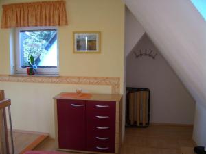 Küche/Küchenzeile in der Unterkunft Rothers Ferienwohnung