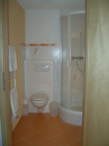 Ein Badezimmer in der Unterkunft Rothers Ferienwohnung