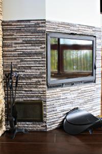 Vonios kambarys apgyvendinimo įstaigoje Apartament M5 Zakopane