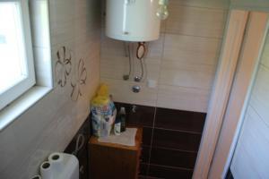 Kupatilo u objektu Pansion Nargalic